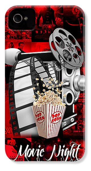 Movie Room Decor Collection IPhone 4 / 4s Case by Marvin Blaine