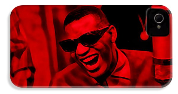 Ray Charles Collection IPhone 4 / 4s Case by Marvin Blaine