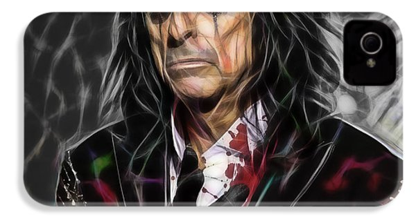 Alice Cooper Collection IPhone 4 / 4s Case by Marvin Blaine