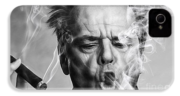 Jack Nicholson Collection IPhone 4 / 4s Case by Marvin Blaine