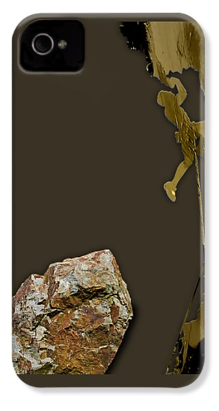 Rock Climber Collection IPhone 4 / 4s Case by Marvin Blaine