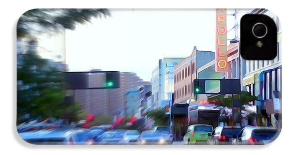 125th Street Harlem Nyc IPhone 4 / 4s Case by Ed Weidman