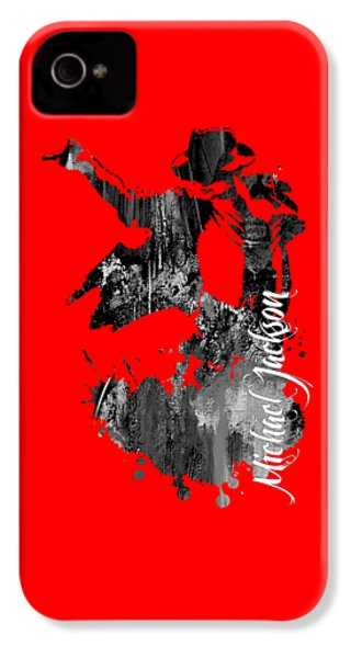 Michael Jackson Collection IPhone 4 / 4s Case by Marvin Blaine