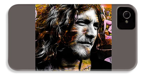 Robert Plant Collection IPhone 4 / 4s Case by Marvin Blaine