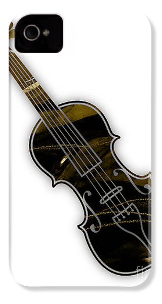 Violin Collection IPhone 4 / 4s Case by Marvin Blaine