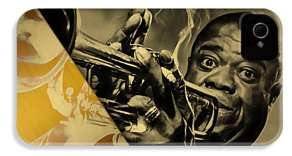 Louis Armstrong Collection IPhone 4 / 4s Case by Marvin Blaine