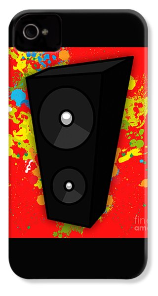Music IPhone 4 / 4s Case by Marvin Blaine