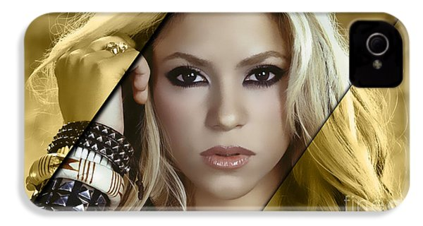 Shakira Collection IPhone 4 / 4s Case by Marvin Blaine