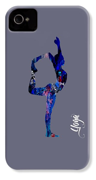 Yoga Collection IPhone 4 / 4s Case by Marvin Blaine