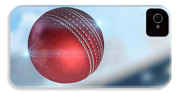 Ball Flying Through The Air IPhone 4 / 4s Case by Allan Swart