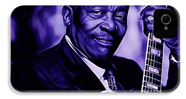 Bb King Collection IPhone 4 / 4s Case by Marvin Blaine