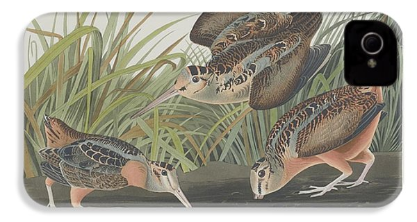 American Woodcock IPhone 4 / 4s Case by John James Audubon