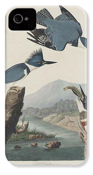 Belted Kingfisher IPhone 4 / 4s Case by John James Audubon
