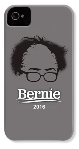 Bernie Sanders IPhone 4 / 4s Case by Marvin Blaine