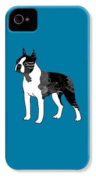 Boston Terrier Collection IPhone 4 / 4s Case by Marvin Blaine