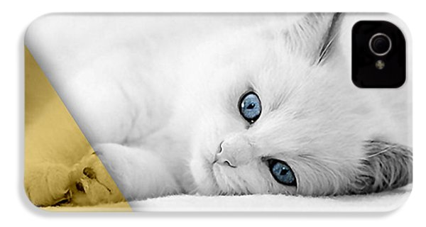 Cat Collection IPhone 4 / 4s Case by Marvin Blaine