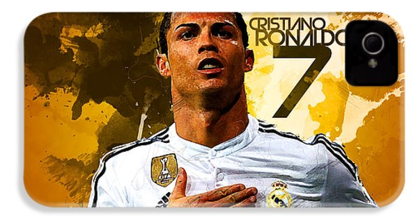 Cristiano Ronaldo IPhone 4 / 4s Case by Semih Yurdabak