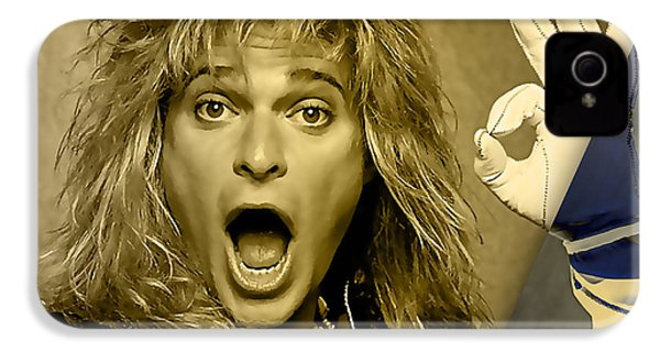David Lee Roth Collection IPhone 4 / 4s Case by Marvin Blaine