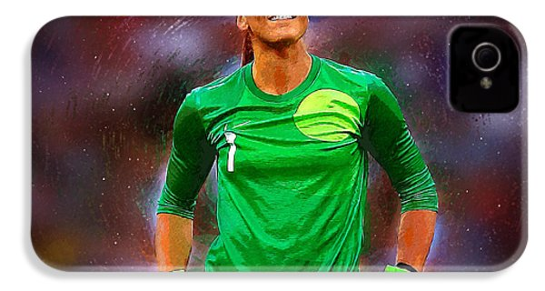 Hope Solo IPhone 4 / 4s Case by Semih Yurdabak
