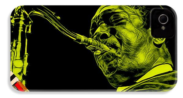 John Coltrane Collection IPhone 4 / 4s Case by Marvin Blaine