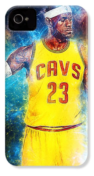 Lebron James IPhone 4 / 4s Case by Taylan Soyturk