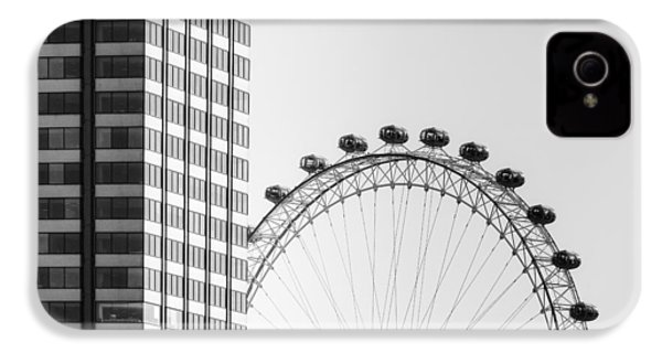 London Eye IPhone 4 / 4s Case by Joana Kruse