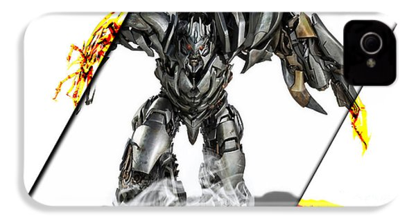 Megatron Transformers Collection IPhone 4 / 4s Case by Marvin Blaine