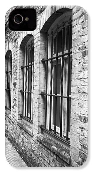 Window Bars IPhone 4 / 4s Case by Tom Gowanlock