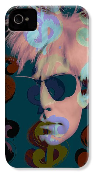 Andy Warhol Collection IPhone 4 / 4s Case by Marvin Blaine