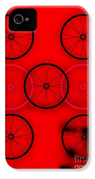 Bicycle Wheel Collection IPhone 4 / 4s Case by Marvin Blaine