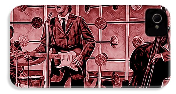 Buddy Holly And The Crickets IPhone 4 / 4s Case by Marvin Blaine