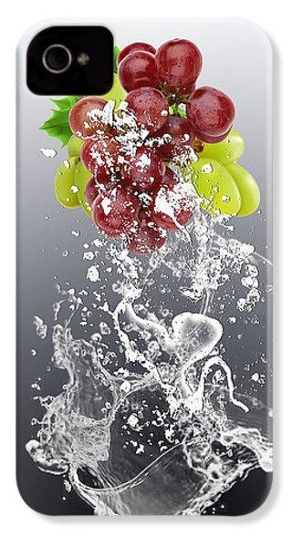 Grape Splash IPhone 4 / 4s Case by Marvin Blaine