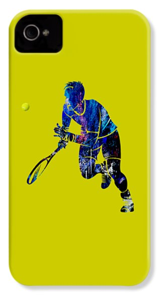 Mens Tennis Collection IPhone 4 / 4s Case by Marvin Blaine