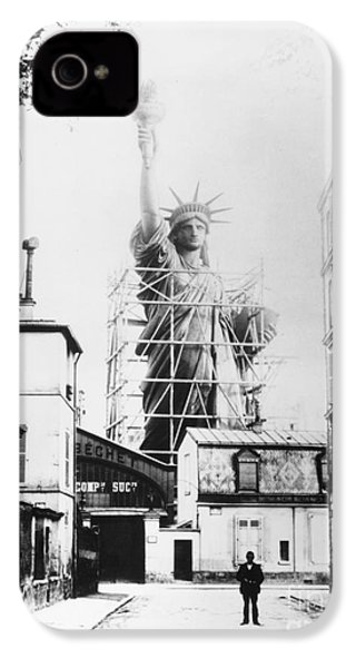 Statue Of Liberty, Paris IPhone 4 / 4s Case by Granger