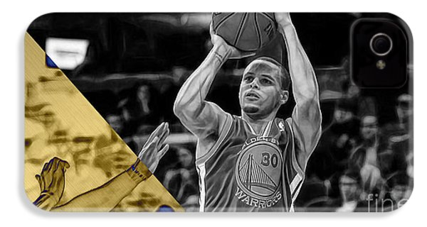 Steph Curry Collection IPhone 4 / 4s Case by Marvin Blaine