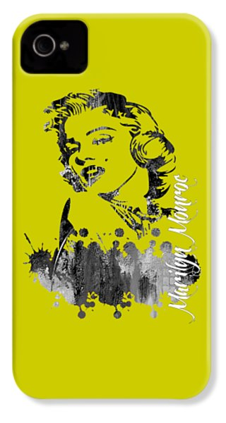 Marilyn Monroe Collection IPhone 4 / 4s Case by Marvin Blaine