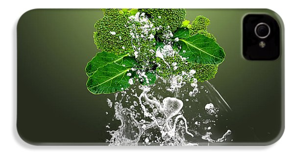 Broccoli Splash IPhone 4 / 4s Case by Marvin Blaine