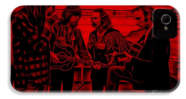 Crosby Stills Nash And Young IPhone 4 / 4s Case by Marvin Blaine