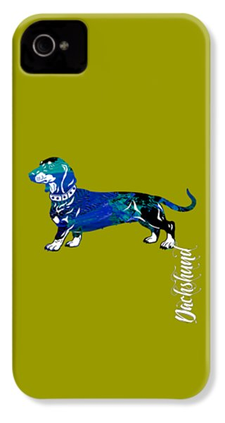 Dachshund Collection IPhone 4 / 4s Case by Marvin Blaine
