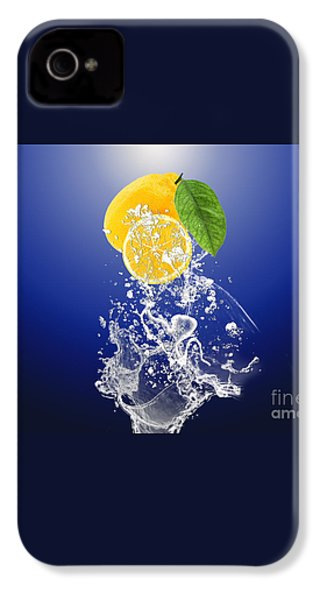 Lemon Splast IPhone 4 / 4s Case by Marvin Blaine