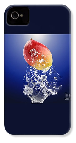 Mango Splash IPhone 4 / 4s Case by Marvin Blaine