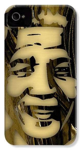 Nelson Mandela Collection IPhone 4 / 4s Case by Marvin Blaine
