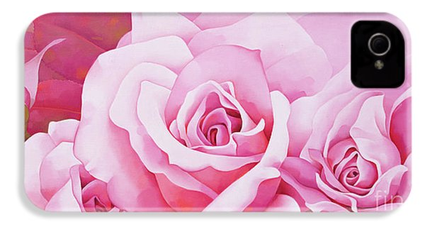 The Rose  IPhone 4 / 4s Case by Myung-Bo Sim