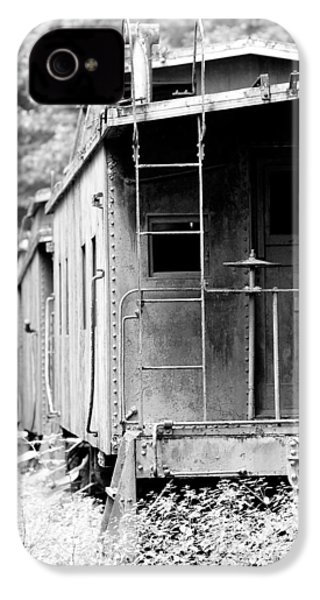 Train IPhone 4 / 4s Case by Sebastian Musial