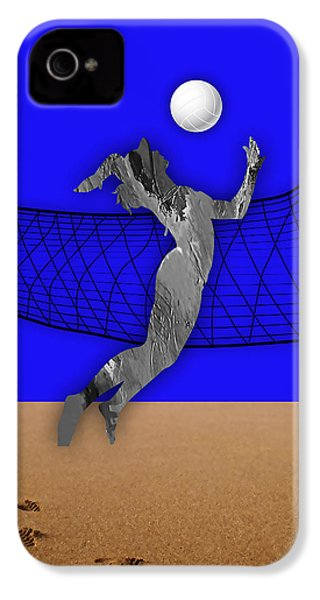 Vollyball Collection IPhone 4 / 4s Case by Marvin Blaine