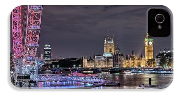 Westminster - London IPhone 4 / 4s Case by Joana Kruse