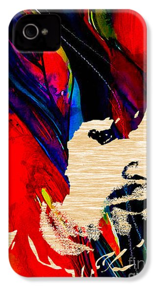 Eric Clapton Collection IPhone 4 / 4s Case by Marvin Blaine