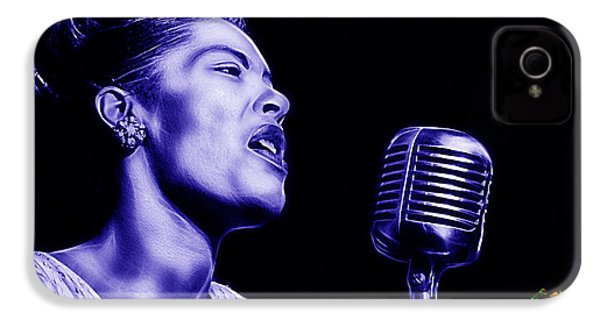 Billie Holiday Collection IPhone 4 / 4s Case by Marvin Blaine