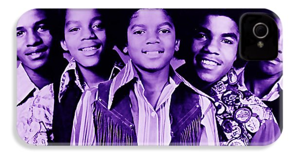 The Jackson 5 Collection IPhone 4 / 4s Case by Marvin Blaine