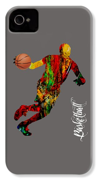 Basketball Collection IPhone 4 / 4s Case by Marvin Blaine